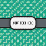 Text background with colorful pixelated pattern. Useful for presentations, advertising and scrapbooking Royalty Free Illustration