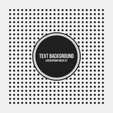 Text background template with simple geometric pattern Stock Photos