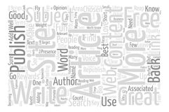 Text Background Word Cloud Concept royalty free illustration