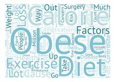 Text Background Word Cloud Concept. A Battle of Great Proportions The Fight Against Obesity text background word cloud concept Royalty Free Stock Photography