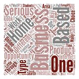 Text Background Word Cloud Concept. A Closer Look At Different Home Based Business Opportunities Word Cloud Concept Text Background stock illustration