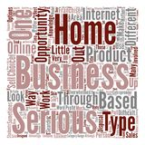 Text Background Word Cloud Concept. A Closer Look At Different Home Based Business Opportunities text background word cloud concept royalty free illustration