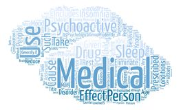 Text Background Word Cloud Concept. Considerations for Psychoactive Medications text background word cloud concept Stock Photos