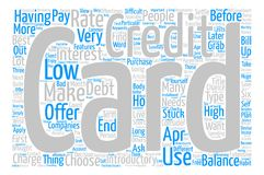 Text Background Word Cloud Concept. Credit Card Introductory Offers Low APR Word Cloud Concept Text Background Stock Photos