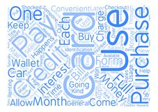 Text Background Word Cloud Concept. Credit Card Usage Explained text background word cloud concept Stock Photos