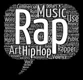 Text Background Word Cloud Concept. Hip Hop Potency text background word cloud concept Royalty Free Stock Photography