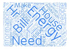 Text Background Word Cloud Concept. House energy ll hr text background word cloud concept Stock Image