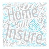 Text Background Word Cloud Concept. Tips For Cheaper Home Insurance text background word cloud concept stock illustration