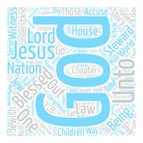 Text Background Word Cloud Concept. The Unrighteous Stewart Explained text background word cloud concept Royalty Free Stock Image