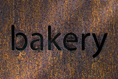Text bakery Stock Images