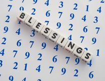 Blessings Royalty Free Stock Photography