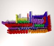 Text block Stock Photography