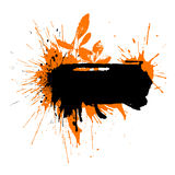 Text blot water-colour 3 Royalty Free Stock Image