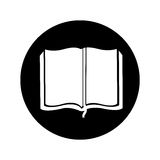 Text book school icon Stock Photos
