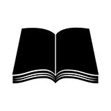 Text book school icon Stock Photo