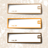 Text box design Stock Image