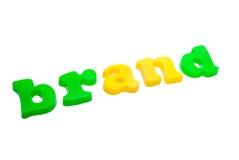 Text brand stock photos