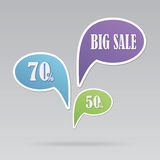 Text bubble SALE Stock Photos