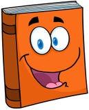 Text-Buch-Zeichentrickfilm-Figur Stockfotos
