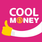 Text cool money Stock Images