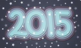 2015 Text Stock Photo