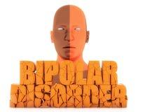Text der bipolaren Störung Lizenzfreie Stockfotografie