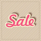 Text design of Sale. Stock Images