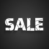Text design of Sale. Stock Photography