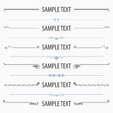 Text dividers and separators set 2. Available in high-resolution and several sizes to fit the needs of your project Stock Photo