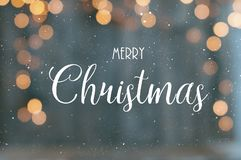 Text för glad jul arkivbilder