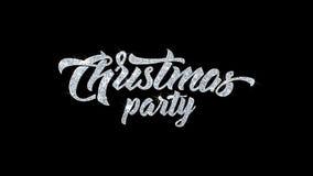 Text för julpartiet önskar partikelhälsningar, inbjudan, berömbakgrund