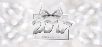 2017 text för lyckligt nytt år Arkivbilder