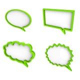 text för moln 3d stock illustrationer