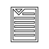 Text file isolated icon design. Illustration eps10 graphic Stock Image