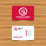Text file sign icon. Check File document symbol. Royalty Free Stock Photos