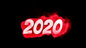 2020. text on fire. word in fire. high turbulence. Text in flames. Fire word. Winter. text on fire. word in fire.high turbulence. Text in flames. Fire word stock video
