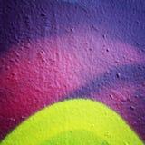 Text frame. Grunge background. Street graffiti closeup. Aged photo. Stock Photos