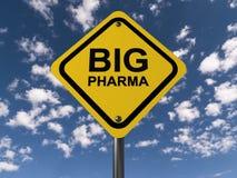 Text großes Pharma lizenzfreie stockbilder