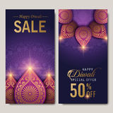 Text happy diwali special offer royalty free illustration