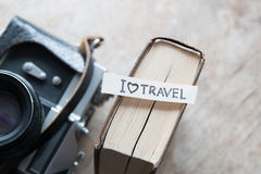 Text I Love Travel Royalty Free Stock Images