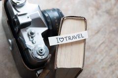 Text I Love Travel Royalty Free Stock Photo
