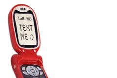 Text ich Lizenzfreies Stockbild