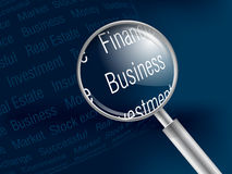 Text Idea 01. Do you  looking for finance investment and successful Royalty Free Stock Photos