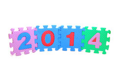 Text 2014 Stock Images