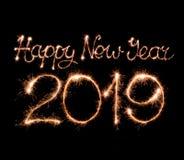 Happy new year 2019 stock image