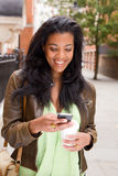 Text message Stock Image