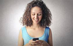 Text message Royalty Free Stock Image