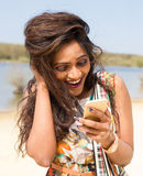 Text message Royalty Free Stock Photos