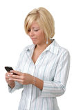 Text messaging stock images