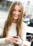Text Messaging Royalty Free Stock Images